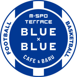 M-SPO TERRACE BLUE×BLUEロゴ